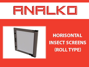Horisontal Insect Screen (Roll Type)