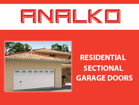 Residencial Sectional Garage Doors