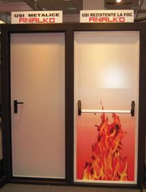 multipurpose metallic doors