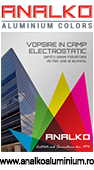 Vopsitorie in camp electrostatic - www.analkoaluminium.ro